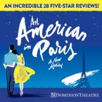 An American in Paris Meal Deals