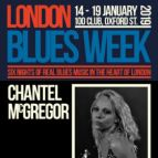 London Blues Week 2019 Present Chantel McGregor