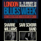 London Blues Week 2019 present Ladies Sing The Blues feat  Sharrie Williams + Sari Schorr + Lisa Mills