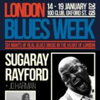 London Blues Week 2019 present Sugaray Rayford Band