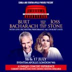 Burt Bacharach with Joss Stone with Live Orchestra
