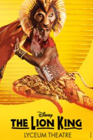 Disney's The Lion King Tickets poster
