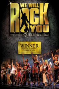 We Will Rock You Tickets poster