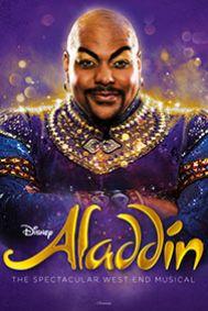 Aladdin - Disney's New Musical Tickets poster