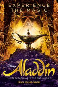 Disney's Aladdin Tickets poster