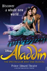 Disney's Aladdin Tickets poster