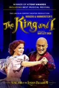 The King and I Tickets poster