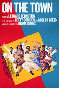 On the Town Tickets poster