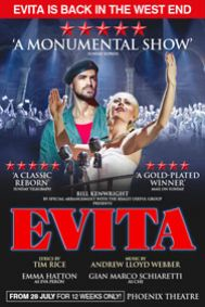 Evita Tickets poster