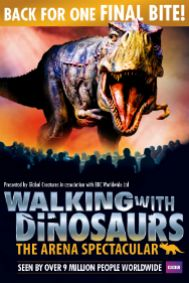 Walking with Dinosaurs: The O2 Arena Tickets poster