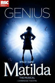 Matilda the Musical Tickets poster