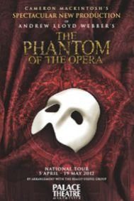 The Phantom of the Opera (Manchester) Tickets poster