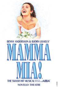 Mamma Mia Tickets poster