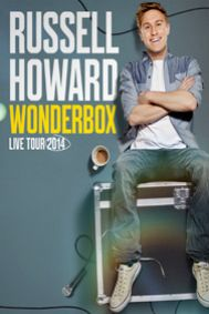 Russell Howard: Wonderbox - Royal Albert Hall Tickets poster
