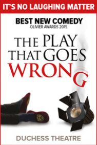 The Play That Goes Wrong Tickets poster