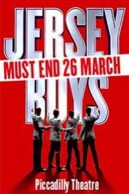 Jersey Boys Tickets poster