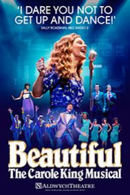 Beautiful - The Carole King Musical Tickets poster