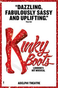 Kinky Boots Tickets poster