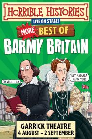 Horrible Histories - More Best of Barmy Britain Tickets poster