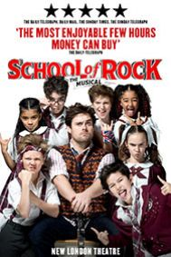 School of Rock Tickets poster