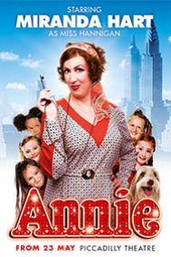 Annie Tickets poster