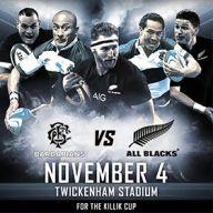 Barbarians V New Zealand