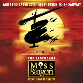 Miss Saigon & Dinner Packages
