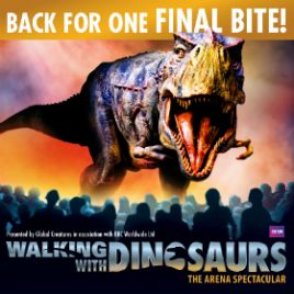 Walking with Dinosaurs: Manchester