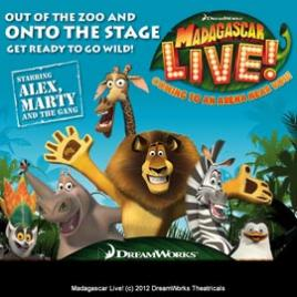 Madagascar Live! - Newcastle