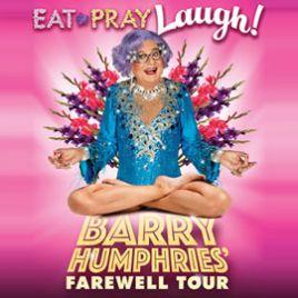 Barry Humphries' Farewell Tour - Eat, Pray, Laugh!