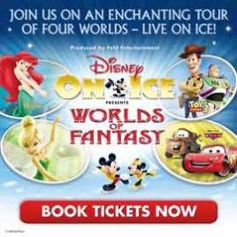 Disney On Ice - Worlds Of Fantasy: Glasgow