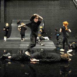 Boris Charmatz Musee de la Dance - enfant