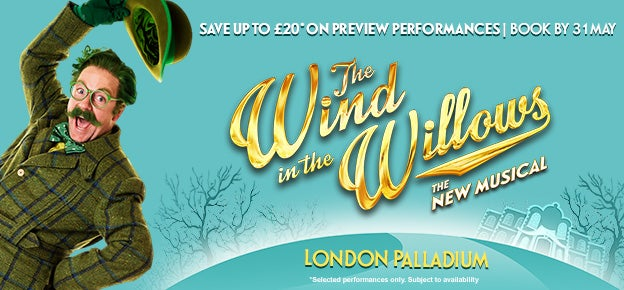 The Wind in the Willows Tickets