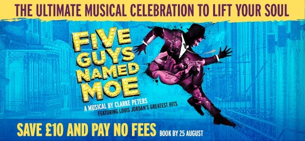 Five Guys Named Moe Tickets