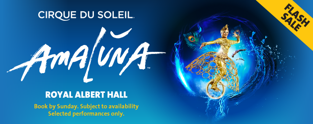 Amaluna Tickets